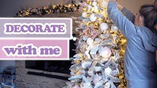 Tipps & Tricks WEIHNACHTSBAUM SCHMÜCKEN DECORATE WITH ME CHRISTMAS TREE