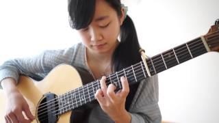 A Whole New World (Aladdin / アラジン) guitar / arranged by Kanaho