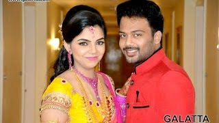 Actor Prithivirajan - Akshaya Engagement