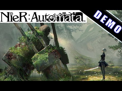 NieR Automata: Demo Playthrough -  PS4 (no commentary) Square Enix