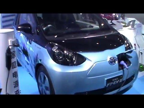 New electric car Toyota FT EV III 2016 Guangzhou