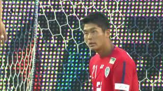 2018年6月16日(土)に行われた明治安田生命J2リーグ 第19節 福岡vs新...