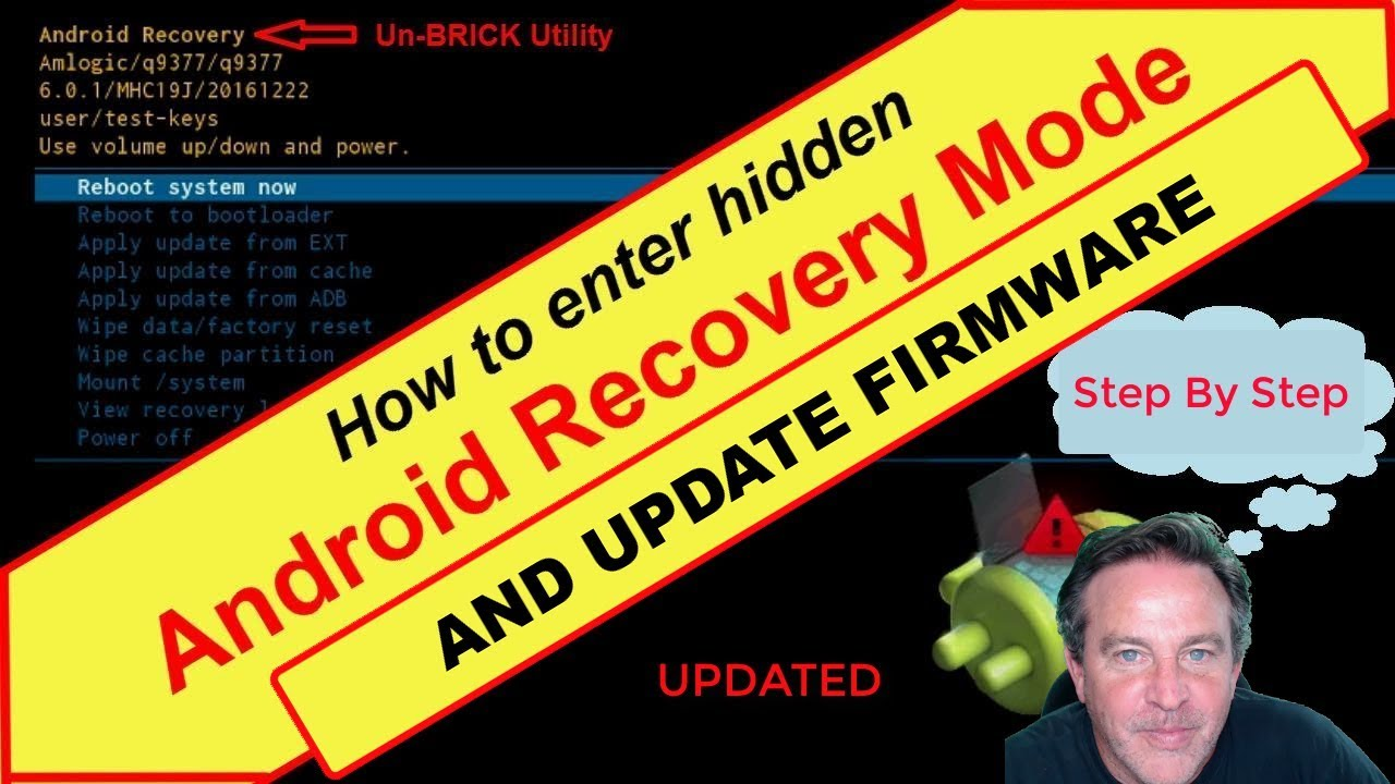 How To Factory Reset or Update Firmware on an Android TV Box