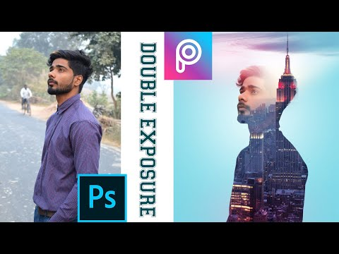 Easy and Best Double Exposure effect || Professional Photoshop Tutorial In Hindi thumbnail