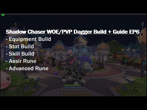 Shadow Chaser EP6 Dagger PVP/WOE Build Guide - Ragnarok Online Mobile SEA