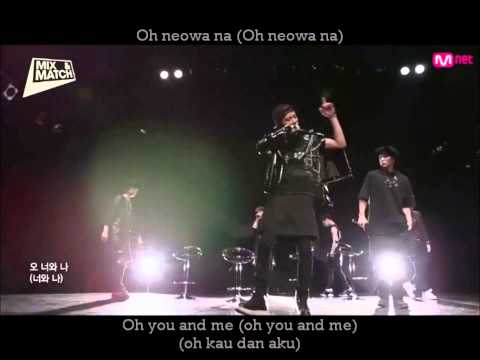 Team B  - Wait For Me Lyric With English And Indo Translate