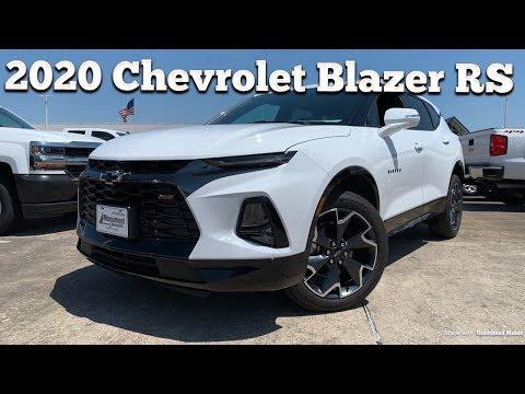 2020 Chevrolet Blazer RS V6: Start Up & Review
