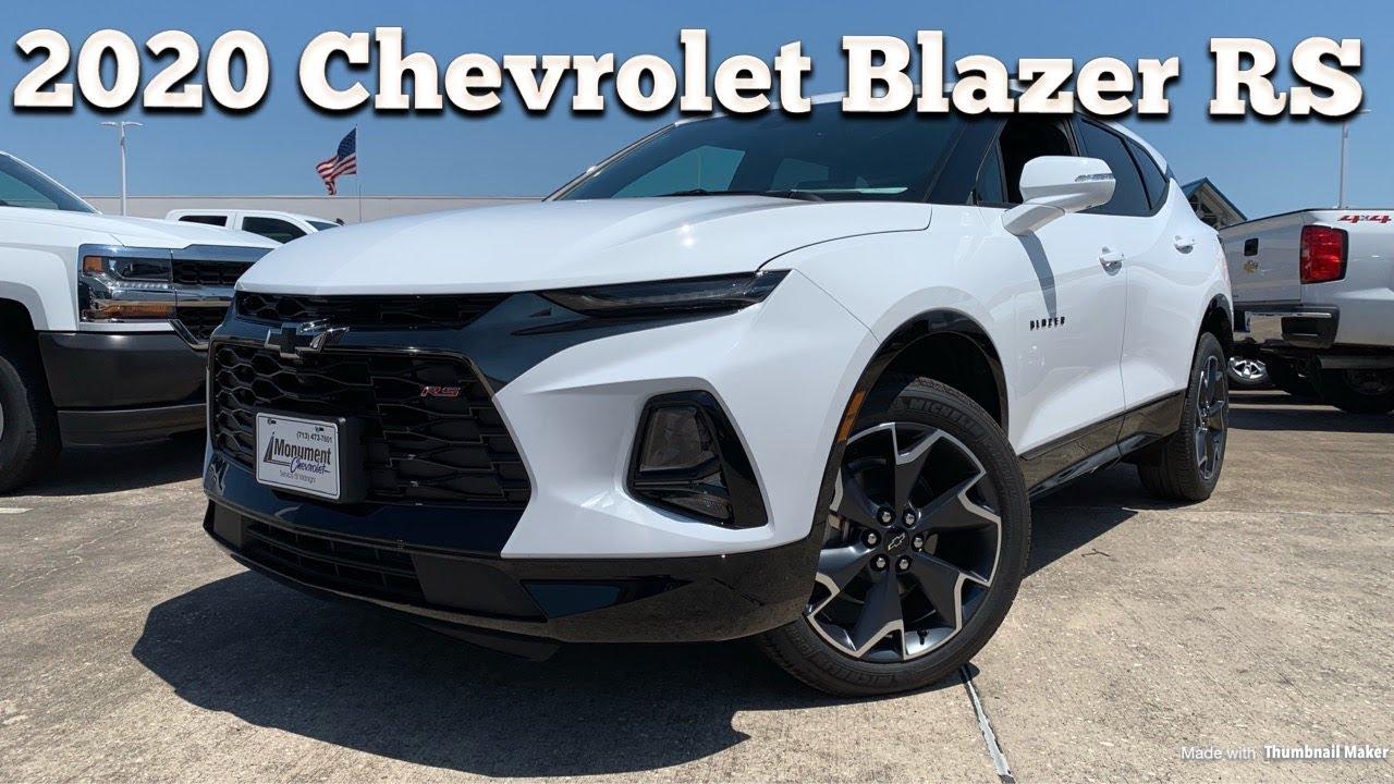 2020 Chevrolet Blazer Rs V6 Start Up Review Youtube