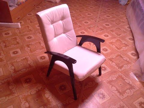 Реставрируем старое кресло