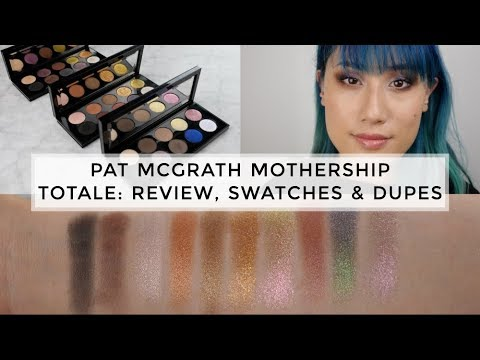 Pat McGrath Mothership Totale Palettes - Review, Demo, Swatches & Dupes