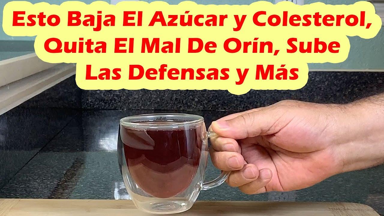 Esto Baja El Azúcar y Colesterol, Quita El Mal De Orín, Sube Las Defensas, Fortalece La Vista y Más