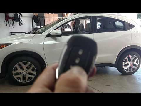 Remote start on Honda hrv