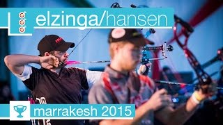 #FanStream: Peter Elzinga v Stephan Hansen – Compound Men's Gold Final | Marrakesh 2015