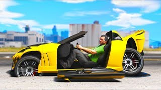 Playing with Extreme Damage mod is IMPOSSIBLE!! (GTA 5 Mods Gameplay)