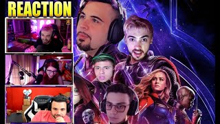 STREAMERS REAGISCONO AL MIO VIDEO 😲 FORTNITE AVENGERS POW3R KROATOMIST CICCIO KEKKO