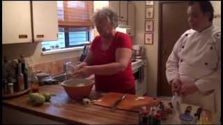 Endive/kohlrabi Salad By Mamma Elf & Chef Clarence
