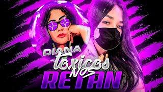 NENA FLOW & DIANA TC NOS RETAN DOS MANCOS RANDOM DEL MUNDO 🤣 *FREE FIRE*