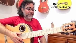 Learn Paco de Lucia´s Symetric scale fingerings (flamenco guitar technique lesson) Ruben Diaz