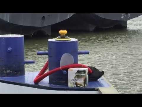 Stofvrij schuren met Mirka, autonet en PS Marine Coatings