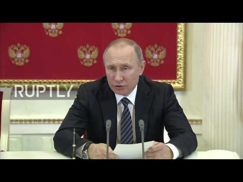 Russia: Putin says he's ready to meet Trump in Slovenian capital Ljubljana
