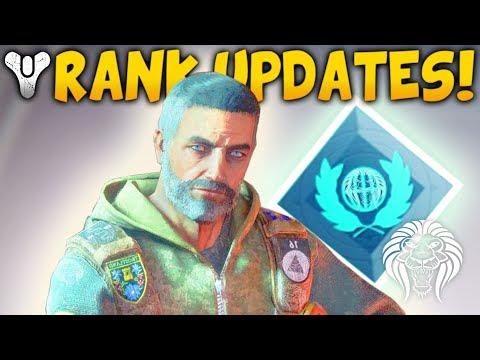Destiny 2: NEW RANK SYSTEM & VENDOR XP! Clarion Call, Hotfix Patch, NPC Bonuses & Progress System