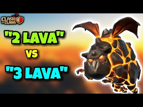 """""""2 LAVA & 3 LAVA"""" GOBOLALOON   Th9 Most Overpowered 3 STARS WAR ATTACK STRATEGY   Clash Of Clans"""
