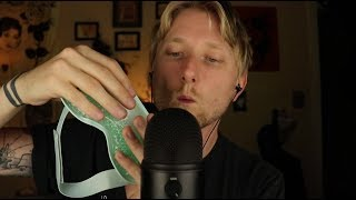 ASMR Mic Blowing and Trigger Assortment