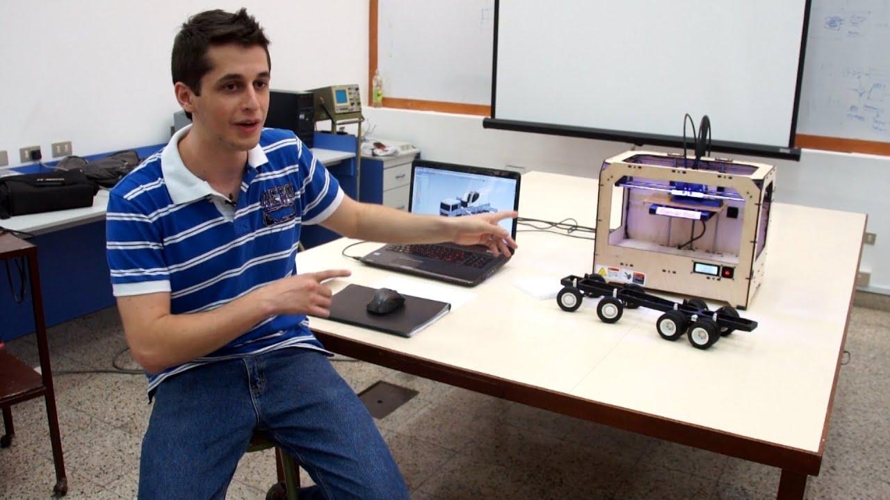 Ingenier a aplicaciones de una impresora 3d youtube for Videos de impresoras 3d