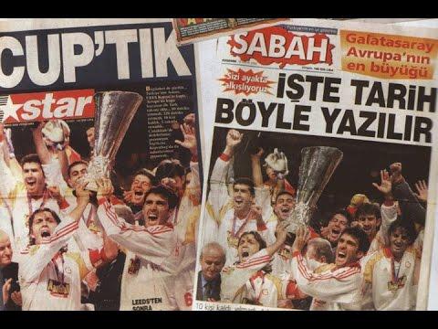 Galatasaray Uefa Kupası Gazete Manşetleri (17 Mayıs 2000)