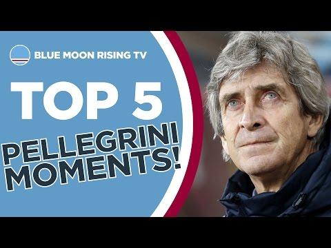 Top 5 Manuel Pellegrini Moments! | Manchester City