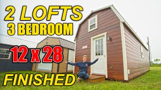 Shed To House - 1 Bedroom, 2 Loft Tiny House Cabin