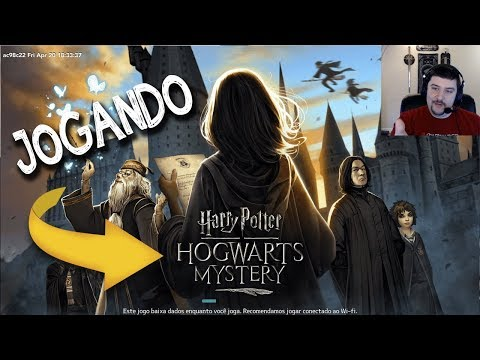 Primeiros 45 minutos do novo Harry Potter Hogwarts Mystery. Jogo de celular totalmente gratuito