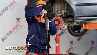 Como trocar amortecedores traseiros SKODA FABIA 6Y TUTORIAL | AUTODOC