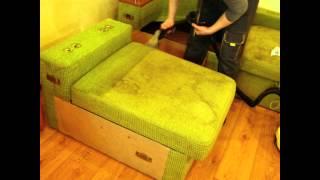 Чистка очень грязного дивана, Днепропетровск(, 2015-03-22T21:52:29.000Z)