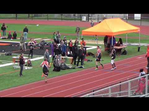 Corry HS vs Meadville 4x400m