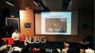 How To Make the Divine Jealous: Lessons From My Students: Sam Potolicchio at TEDxAUBG