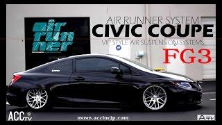 ACCtv AIRRUNNER HONDA CIVIC COUPE FG3 w/ e-LEVEL