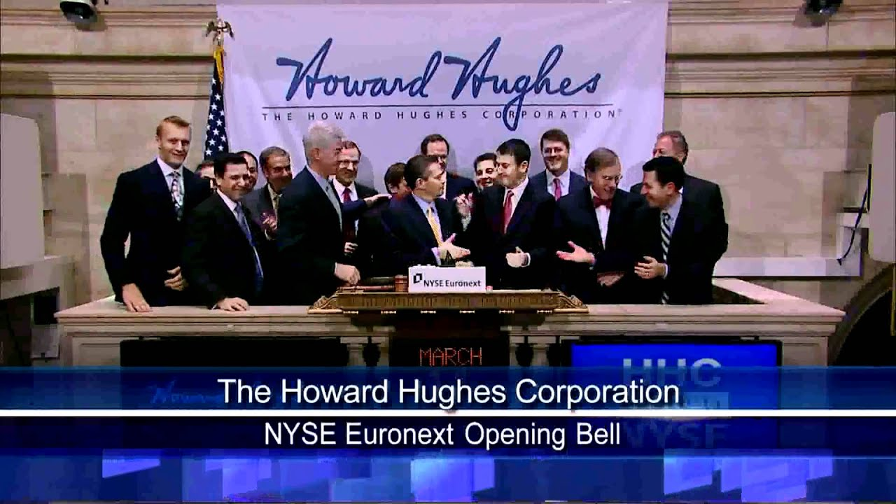 11 March 2011 Howard Hughes Corp rang NYSE Opening Bell ...