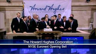 11 March 2011 Howard Hughes Corp rang NYSE Opening Bell