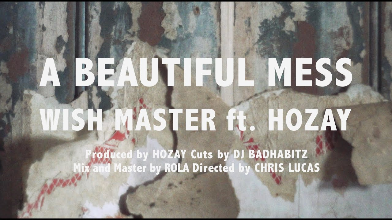 Wish Master and Hozay drop the video for their EP's title track - 'A Beautiful Mess'