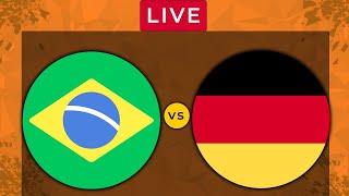 BRAZIL vs GERMANY LIVE Olympics 2021 Football Match