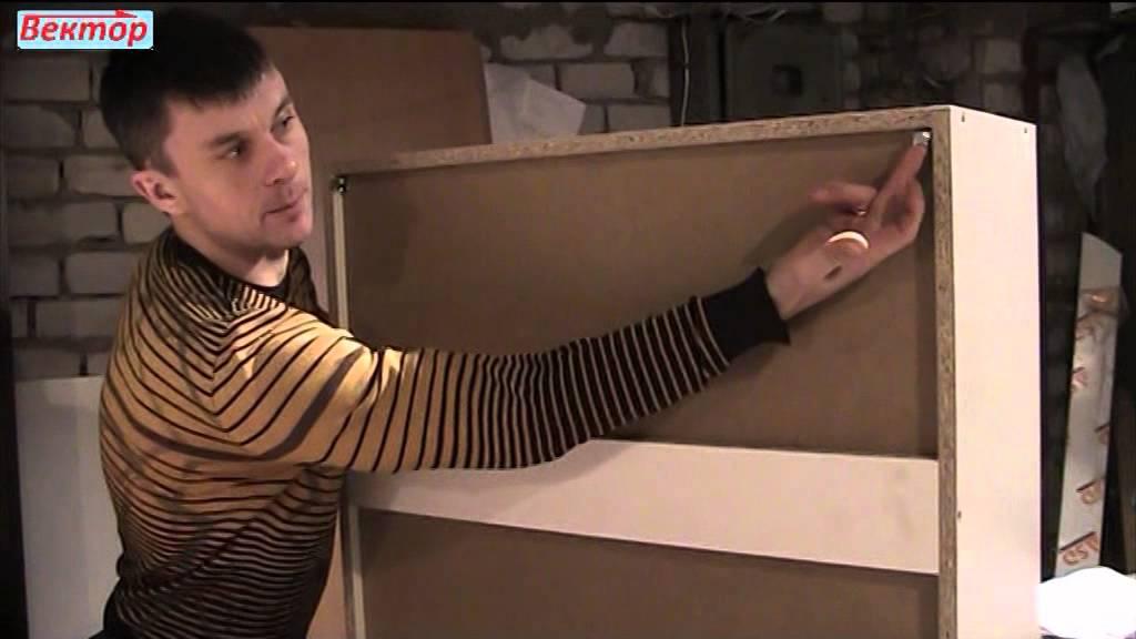 Шкаф и комод в гостиной комнате под заказ - YouTube