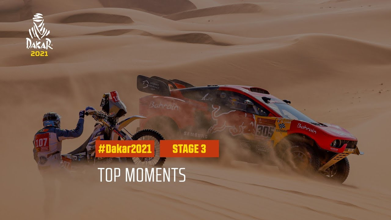 #DAKAR2021 - Stage 3 - Top Moments