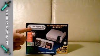 Nintendo NES Mini Classic / Review, Gameplay & Unboxing / Mario / Castlevania / No China Fake System