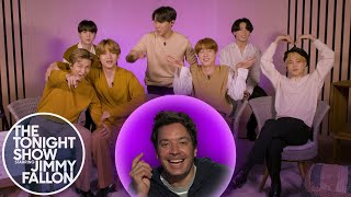 BTS Reminisces on What They Were Like in High School | The Tonight Show