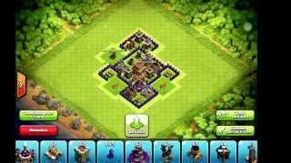 Clash Of Clans / Hdv5 hybride