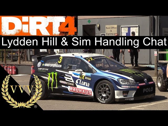 Dirt 4 Lydden Hill and Sim Handling Preview Gameplay
