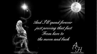 """Dolly Parton- """"Here to the Moon & Back"""" (with lyrics)"""