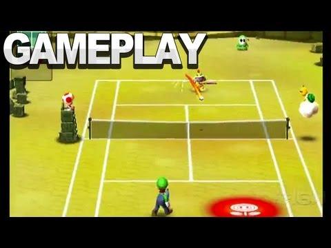 Mario Tennis Open - Singles Match Vs. Bowser Jr.