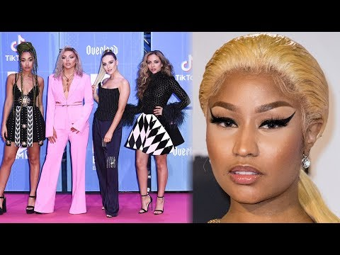 Little Mix Make Nicki Minaj CRY With Sweet 2018 EMAs Gift